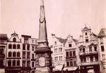 Marktplatz, Fotografie um 1870, Bildnummer: bbv_00251