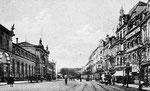 Bahnhofstraße um 1905, Bildnummer: bbv_00099