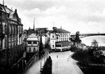 Alte Rheinbrücke mit Hotel Rheineck, Bildnummer: bbv_00016