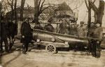 Abbau der altersschwachen Kanonen auf dem Alten Zoll (1926), Bildnummer: bbv_00182