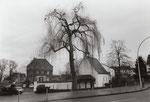 Dransdorfer Burg mit Kapelle, Fotografie um 1980, Bildnummer: bbv_01129