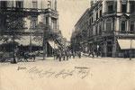 Poststraße um 1900, Bildnummer: bbv_00730