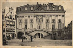Altes Rathaus um 1910, Bildnummer: bbv_00735
