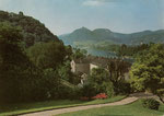 Rolandseck, Autotypie um 1950, Bildnummer: bbv_01006