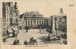 Marktplatz um 1900, Bildnummer: bbv_00613