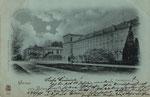 Hofgarten bei Mondschein um 1898, Bildnummer: bbv_00872