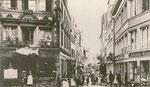 Wenzelgasse um 1900, Bildnummer: bbv_00903