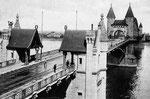 Alte Rheinbrücke 1905, Bildnummer: bbv_00008