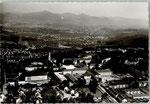 Universitätsklinik und Ortsteil Venusberg um 1955, Bildnummer: bbv_00891