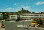 Theaterplatz, Autotypie um 1962, Bildnummer: bbv_00354