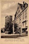 Vivatsgasse und Sterntor um 1905, Bildnummer: bbv_00776