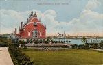 Ehem. Stadthalle in der Gronau um 1910, Bildnummer: bbv_00430