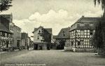 Oberpleis, Hindenburgstraße, Fotografie von 1938, Bildnummer: bbv_01038
