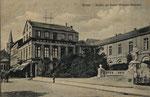 Westflügel  (Buen Retiro) vom Kaiserplatz aus um 1910, Bildnummer: bbv_00675