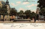 Villen in der Godesberger Rheinallee, Heliochromdruck von 1905, Bildnummer: bbv_00355
