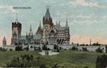 Schloss Drachenburg, Heliochromdruck um 1905, Bildnummer: bbv_00992