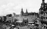 Marktplatz um 1935, Bildnummer: bbv_00057