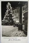 Weihnachtsabend am Markt (1950er), Bildnummer: bbv_00623