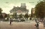 Münsterplatz, Heliochromdruck um 1905, Bildnummer: bbv_00406