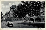 Bottlerplatz mit dem neuerrichteten Stadthaus um 1926, Bildnummer: bbv_00255