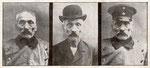 """Wilhelm Voigt, der """"Hauptmann von Köpenick"""" wurde am 26.11.1908 in Bonn aufgegriffen und zu einer Geldstrafe verurteilt, Bildnummer: bbv_00900"""