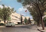 Görresstraße (heute: Platz der Vereinten Nationen), Farbfotografie um 1955, Bildnummer: bbv_00327