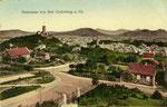 Panorama von Godesberg, Heliochromdruck um 1910, Bildnummer: bbv_00361