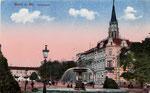 Kaiserplatz, Heliochromdruck um 1910, Bildnummer: bbv_00369