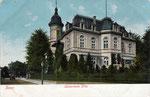 Kronprinzenvilla in der Wörthstraße, Heliochromdruck um 1902, Bildnummer: bbv_00344