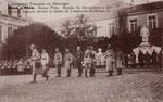 Ordensverleihung an französische Offiziere der Besatzungsarmee, um 1920, Bildnummer: bbv_01239