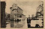 Hotel Rheineck beim Hochwasser 1919/20, Bildnummer: bbv_00770