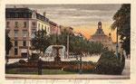 Kaiserplatz, Heliochromdruck um 1910, Bildnummer: bbv_00367