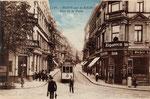 Poststraße, kolorierter Lichtdruck um 1924, Bildnummer: bbv_00439