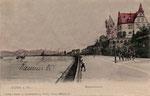Villa von Wilhelm Spiritus um 1900, Bildnummer: bbv_01100