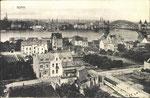 Blick auf die alte Rheinbrücke, Bildnummer: bbv_00239
