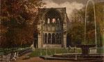Klosterruine Heisterbach, Heliochromdruck um 1900, Bildnummer: bbv_00987