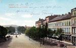 Kaiserplatz, Heliochromdruck um 1906, Bildnummer: bbv_00371