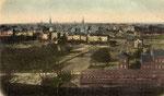 Blick vom Venusberg auf Poppelsdorf, Heliochromdruck um 1900, Bildnummer: bbv_00452