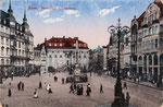 Marktplatz, Heliochromdruck um 1910, Bildnummer: bbv_00384