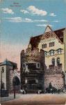 Bottlerplatz und Sterntor, Heliochromdruck um 1910, Bildnummer: bbv_00435