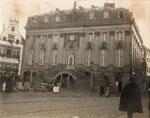 Altes Rathaus um 1915, Bildnummer: bbv_00739