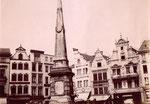 Marktfontäne, Fotografie um 1870, Bildnummer: bbv_00251