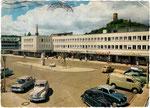 Theaterplatz, Autotypie um 1952, Bildnummer: bbv_00484