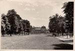 Poppelsdorfer Schloss, Fotografie von 1950, Bildnummer: bbv_01186