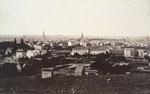 Blick vom Venusberg auf Poppelsdorf, Fotografie von 1895, Bildnummer: bbv_00138