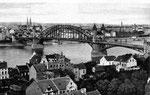 Blick auf die alte Rheinbrücke, Bildnummer: bbv_00010