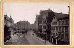 Marktplatz, Fotografie von 1897, Bildnummer: bbv_00632