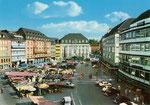 Marktplatz um 1956, Bildnummer: bbv_00383