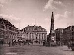 Marktfontäne, Fotografie von 1892, Bildnummer: bbv_00153