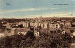 Blick vom Venusberg auf Poppelsdorf um 1910 (ganz links in der Mitte die Synagoge), Bildnummer: bbv_00453